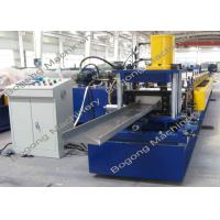 Buy cheap C200 PLC Control Purlin Roll Forming Machine Customized 10 - 20m / Min Speed from Wholesalers