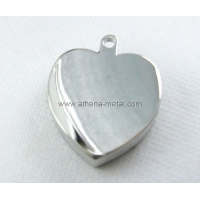 China Heart Metal Solid Perfume Case Metal Solid Perfume Case Heart Solid Perfume Case OEM Solid Perfume Case factory
