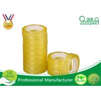 BOPP Acrylic Transparent Fragile Packing Tape , Custom Packaging Tape Light Weight