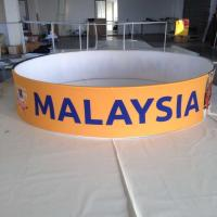 Buy cheap Promotions Hanging Trade Show Displays And Ceiling Sign With Tension Fabric from Wholesalers