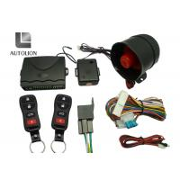 China Long Distance High Tech Car Security Systems , Vehicle Security And Remote Start Systems factory