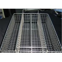 China Corrosion Resistance Hardware Wire Mesh Filter , Extra Large Wire Storage Baskets For Disinfecting factory