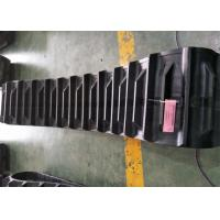 China 500mm Width Agricultural Rubber Tracks 90mm Pitch 4860mm Overall Length factory