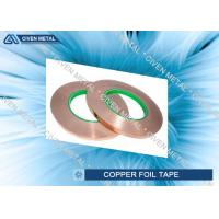 China 12mm x 50m - Copper Foil Tape with Conductive Adhesive for EMI Shielding factory
