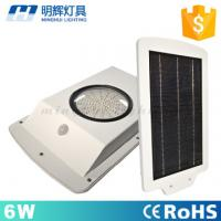 Buy cheap IP66 Waterproof Garden Lighting 6W Motion Sensor LED Solar Street Light from Wholesalers