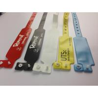 Buy cheap PVC Rfid Wristband 13.56 Mhz Smart Tag For Hospital Use , Eco Friendly from Wholesalers