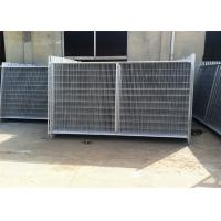 Buy cheap Professional Temp Fence Panels Free Standing Metal Fence 3.8mm Diameter from Wholesalers