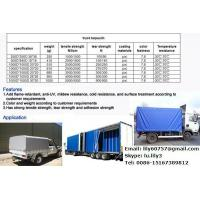 China Truck Cover PVC coated tarpaulin 1000D for truck cover,tent, open top container covers on sale