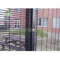 Quality Easy Installation Metal Security Fence Panels With Low Carbon Steel Material for sale