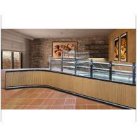 Buy cheap Shopping Mall Dessert Display Case , Glass Pastry Display Case Customized Color from Wholesalers