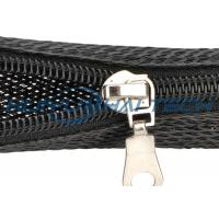 Buy cheap Automotive Zipper Sleeve Cable Wrap For Harness Management Protection from Wholesalers