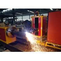 Buy cheap Customized Cutting Length CNC Pipe plasma Cutting Machine  Loading Capacity 2000kgs from Wholesalers