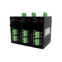 China Wall Mounted Industrial  RS-485 Serial Port Server -40℃~85℃ Working Temperature on sale