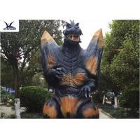 2.3 Meters Amusement Park Giant Realistic Animatronic Godzilla Statues can move