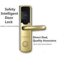 Buy cheap Anti - Corrosion SS RFID Hotel Lock Silver / Golden / Red Bronze Color Optional from Wholesalers
