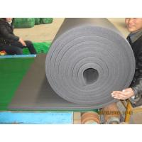 China rubber foam roll insulation factory