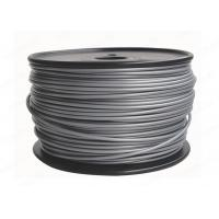 China Silver Plastic 3D 3MM PLA Filament Printing Material For Reprap 3D Printers factory