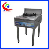 China Upright gas single burner Restaurant Kitchen Tools and Equipment SS factory