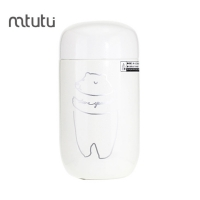China Mtutu Silicone Pad 200ml Vacuum Insulated Water Bottle factory