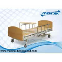 China Multifunction Manual Patient Nursing Home Beds With Side Rails on sale