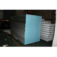 China 32kg waterproof XPS exterior sandwich wall panels 1150-75-0.426mm for warehouse factory