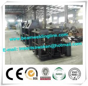 China Roller Type Manual H Beam Shot Blasting Machine Sand Blasting Machine factory