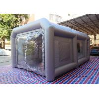 China Portable Waterproof Inflatable Car Paint Spray Booth With Cotton Filter factory
