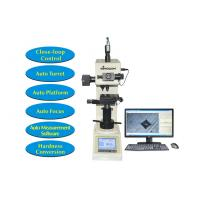 Buy cheap Touch Screen Digital Hardness Tester Vickers with Motorized XY Table and Software Measurement from Wholesalers