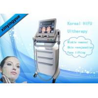 Buy cheap Koreal HIFU Machine 4.5mm Action Depth 3 Heads For Facial Wrinkle Remover from wholesalers