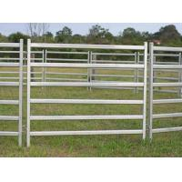 China China wholesale 1.8mx2.1m Galvanized cheaper cattle metal fence panel on sale