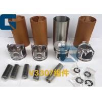 China KUBOTA Engine Parts V3307 Engine Cylinder Liner Kit For Excavator Spare Parts on sale