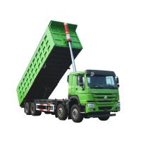 Buy cheap Light Weight HOWO Tipper Truck , Blue Giant Dump Truck Lower Fuel Consumption from Wholesalers