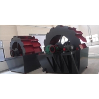 China 20-180 T/H Sand Washing Machine In Mineral Processing Plant factory