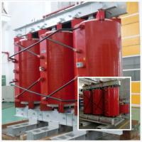 Buy cheap 20kV - 50kVA Cast Resin Dry Type Transformer , Pollution Free 3 Phase Transformer from Wholesalers
