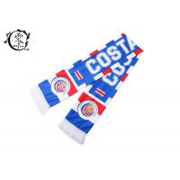 Costa Rica Custom Soccer Scarves , Netherlands Football World Cup Scarf