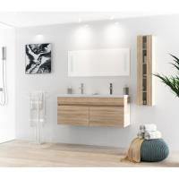 China White Table Modern Style 120 Inch Bathroom Vanity For Small Bathrooms factory