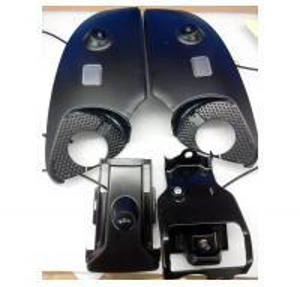 Quality Toyota Prado Car Reverse Camera Kit , 360 Degree Bird View Parking System for for sale