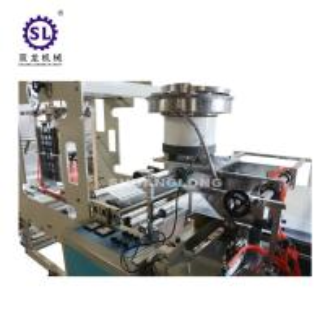 China Fully automatic zip lock bag making machine , three side sealing bag making machine factory