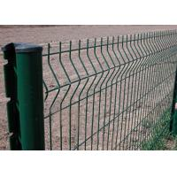 Portable V - Fold Welded Mesh Fence High Strength OEM / ODM Available