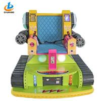 Buy cheap Tank Simulator Colorful Arcade Game Machine , Children's Amusement Park Rides from wholesalers