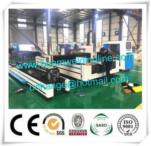 China Pipe And Sheet Laser Cutting Machine , CNC Plasma Cutting Machine For Tube And Plate factory