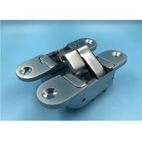 China Pearl Chrome 3D Adjustable Concealed Hinges 180 Degree Concealed Door Hinge factory