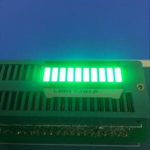 Buy cheap Pure Green 10 LED Light Bar 120MCD - 140MCD Luminous Intensity from Wholesalers