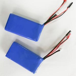 China High quality 7.4v 2600mah li polymer battery 2s lipo battey pack factory