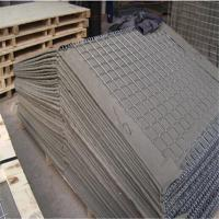 China Mil1 Military Hesco Barrier For Sale 4mm/mil1/ mil 10 size whole sale galvanized hesco barrier for shooting range factory