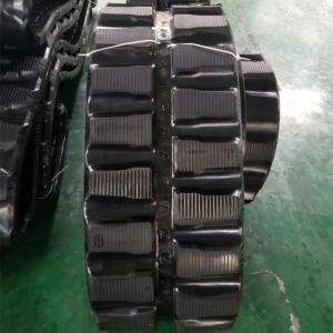 China 86 Links Excavator Rubber Tracks , Less Vibration Kubota Replacement Tracks on sale