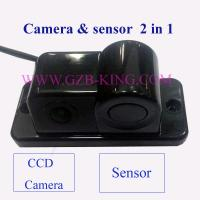 2014 new DIY camera built-in sensor combined rear view parking sensor system with buzzer