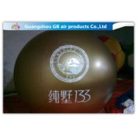 China Green PVC Promotional Inflatable Helium Balloons With Logo Printing factory
