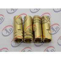 Buy cheap Both End Flat Head Brass Bushing Custom CNC Parts ø14*43 MM Size 0.064KG from Wholesalers