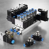 Buy cheap 2 Position Air Actuated Solenoid Valve , Plate Type Double Acting Solenoid Valve from Wholesalers